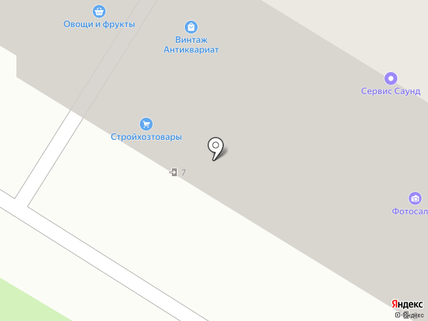 Шик на карте Москвы