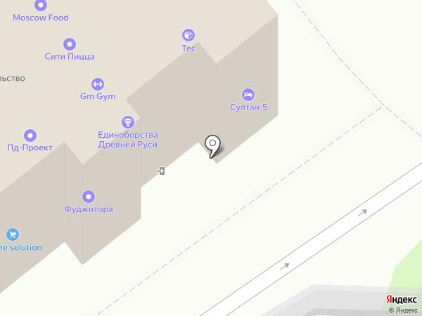 Tektronix на карте Москвы