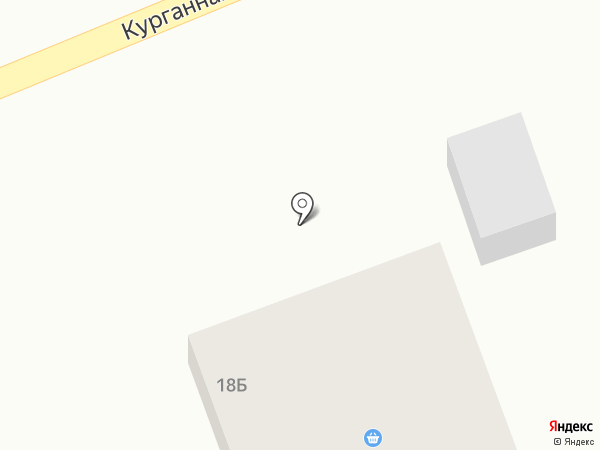 Новотон на карте Новороссийска