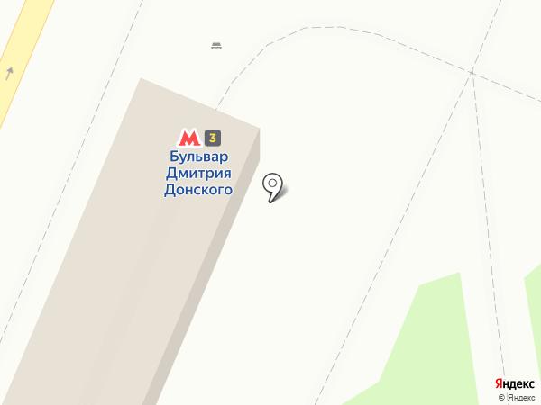 ВТБ Банк Москвы на карте Москвы