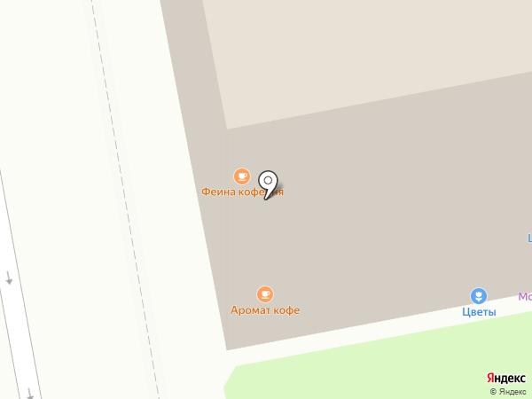 Шалфей на карте Москвы