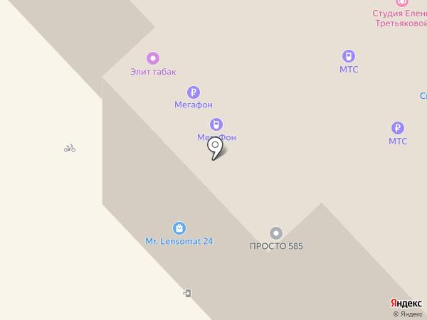 Уют на карте Москвы
