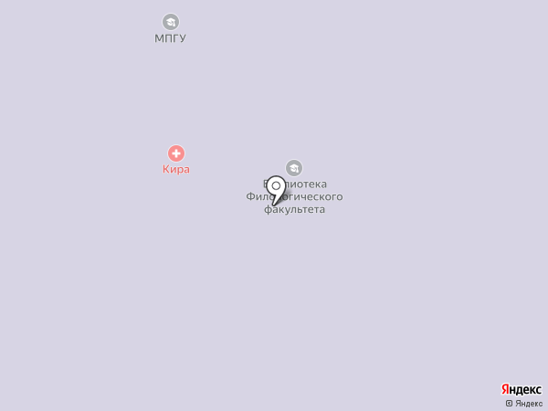 Авогадро на карте Москвы