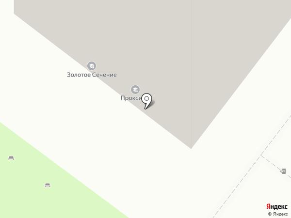 Золотое сечение, ЧОУ на карте Москвы