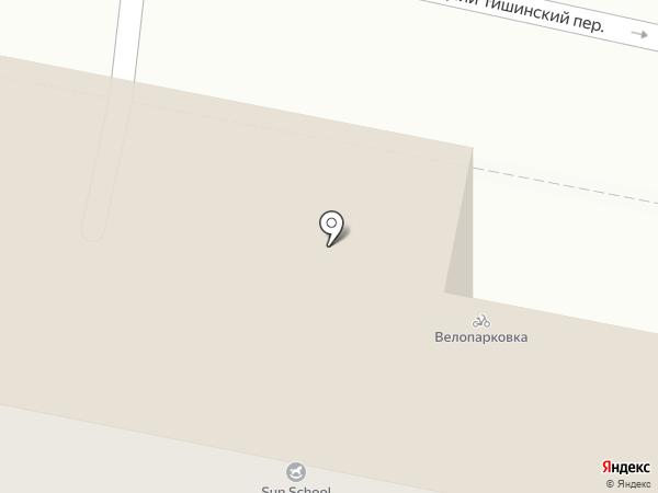 Лица на карте Москвы