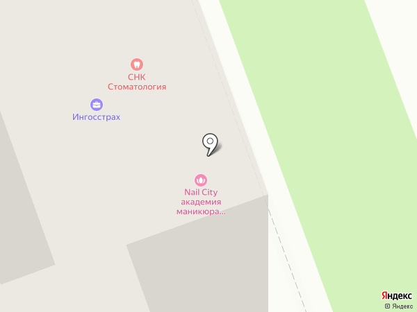 Эрмстайл на карте Москвы