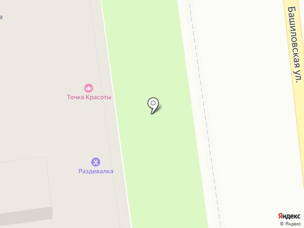 Раздевалка на карте Москвы