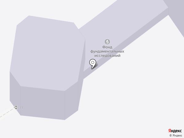 Амбитика на карте Москвы