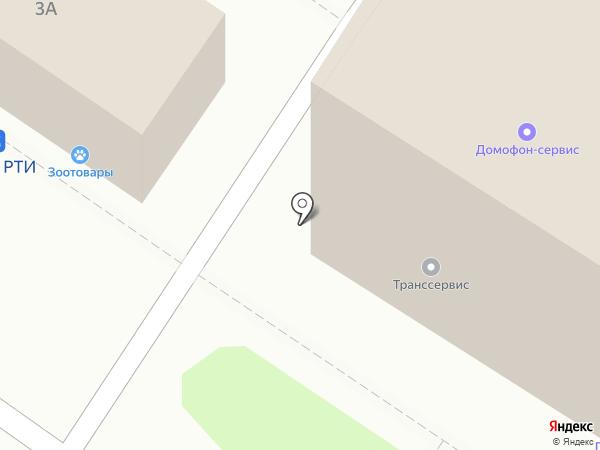 ОБИ на карте Тулы