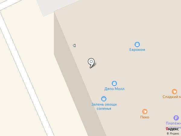 Магазин тканей на карте Москвы