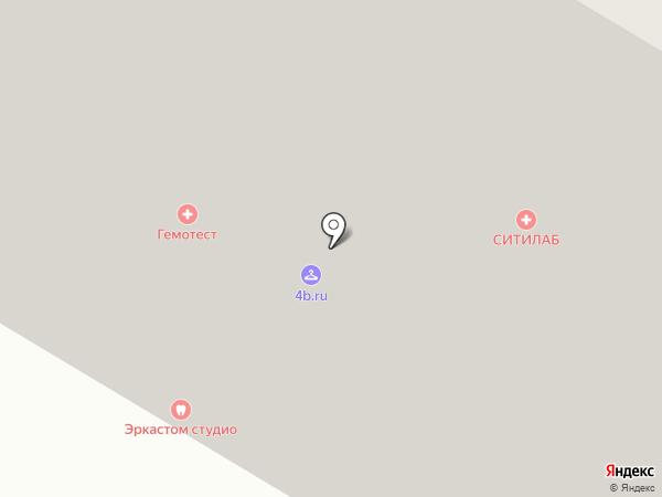 Гастроном на карте Москвы