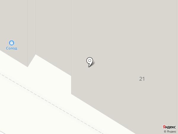 Солод на карте Москвы