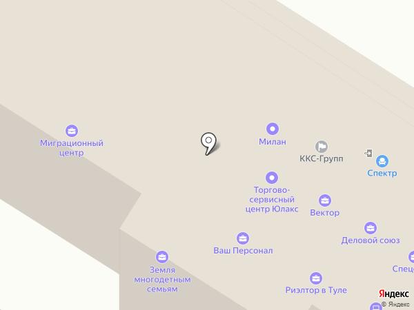 АМУЛЕТ на карте Тулы