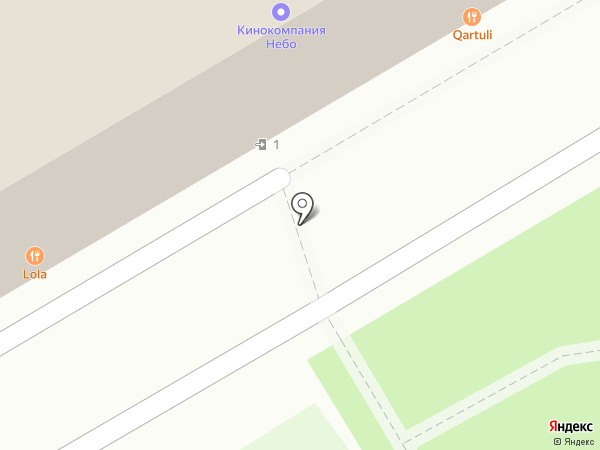 Archiline на карте Москвы