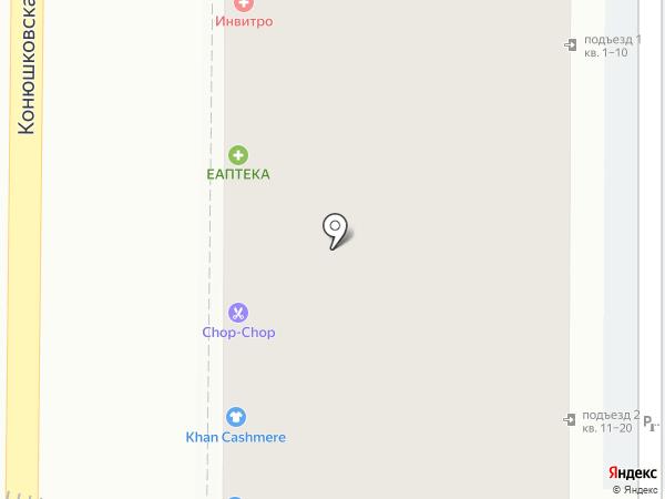 CHOP-CHOP на карте Москвы