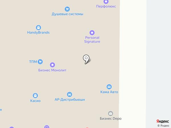 Максималь на карте Москвы