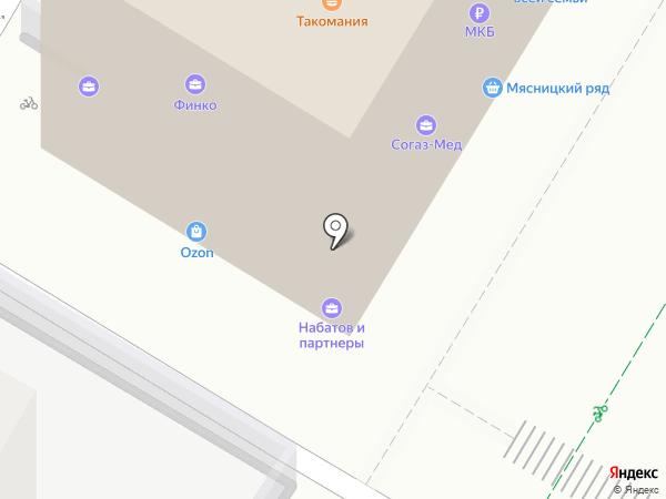 Дари-Групп на карте Москвы