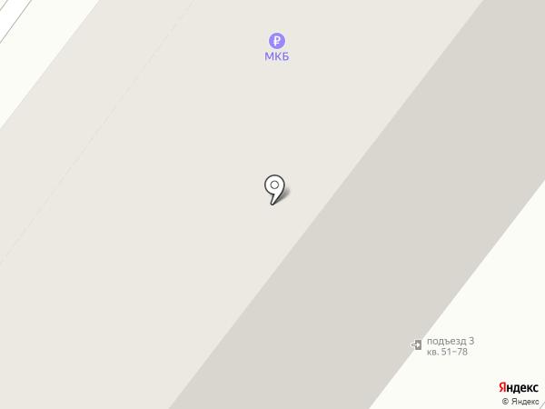 Леда на карте Москвы