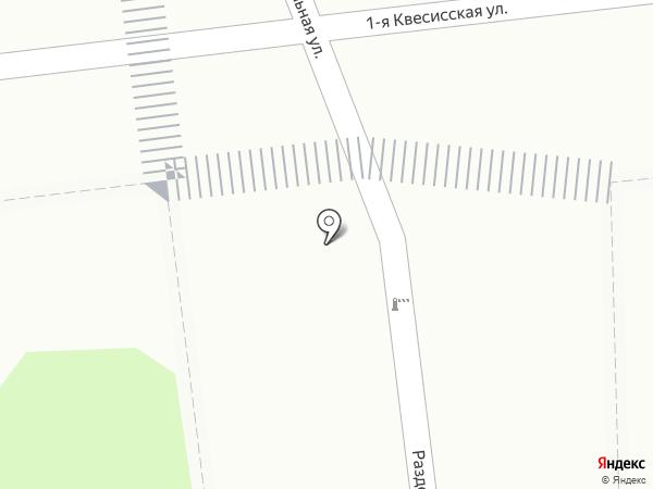 Киоск печатной продукции на карте Москвы