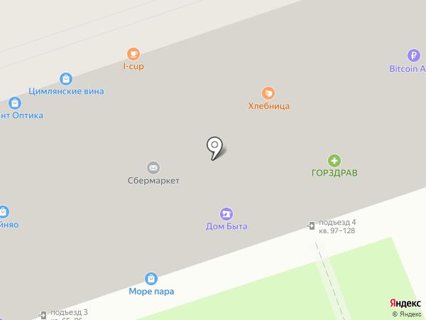 Джал на карте Москвы