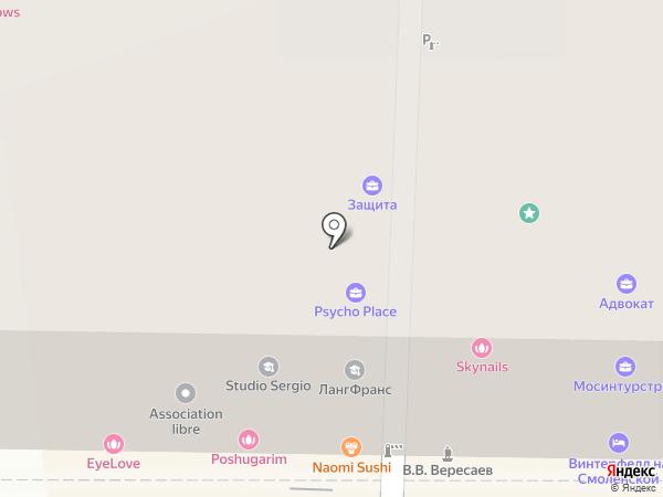 Yulia Wave на карте Москвы