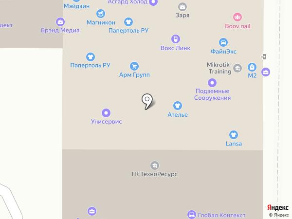 Ланса на карте Москвы