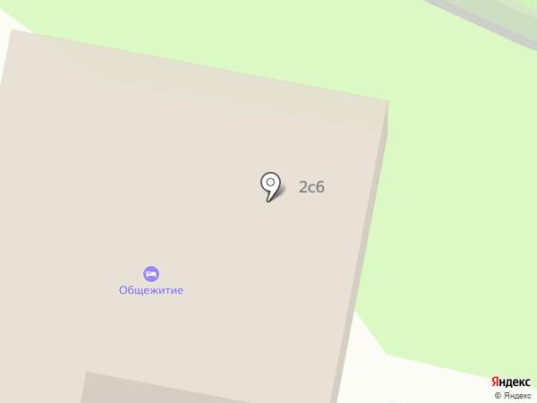 Хостел №1 на карте Москвы