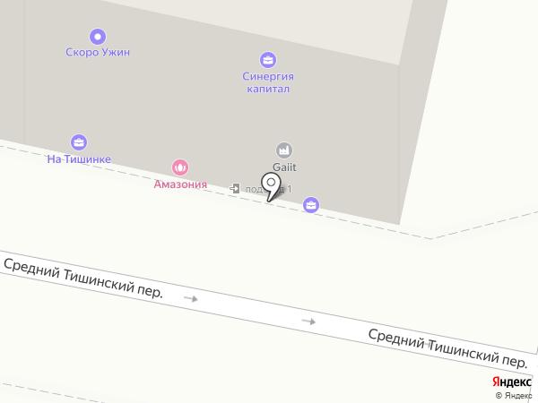 Система межрегиональных маркетинговых центров на карте Москвы