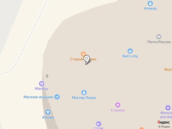 Рублёвский на карте Москвы