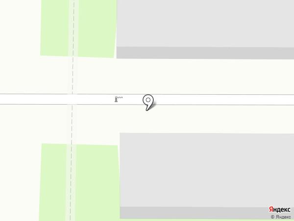 Автостоянка №58 на карте Москвы