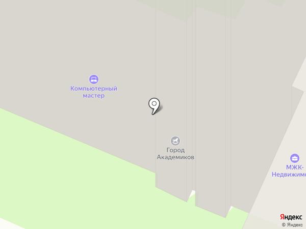 МЖК-Недвижимость на карте Москвы