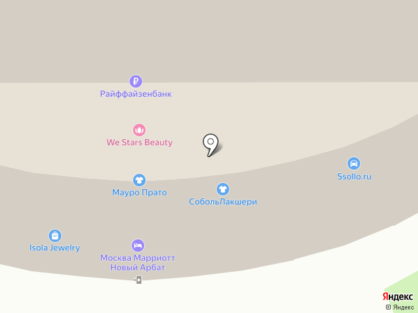 Castello d`Oro на карте Москвы