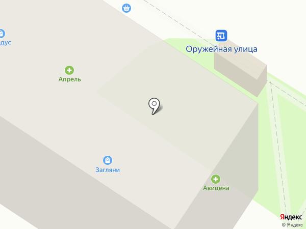 Жасмин на карте Тулы