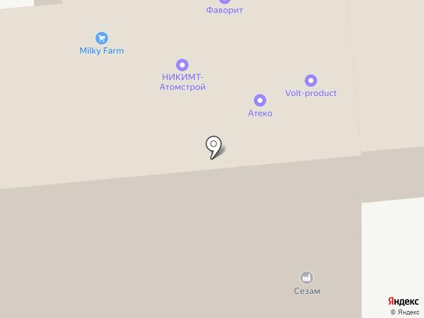 Геммадренаж на карте Москвы