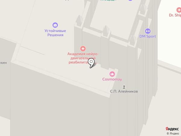 Фортуна-1 на карте Москвы