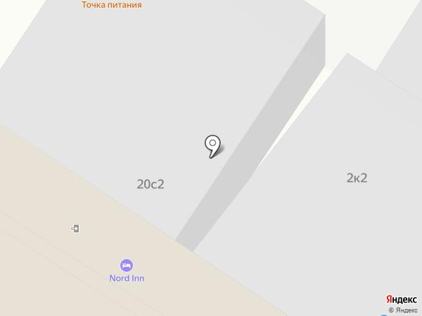 Регион-Реклама на карте Москвы
