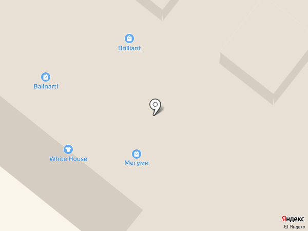 Glance на карте Тулы