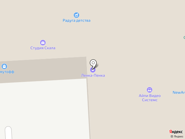 Информ-курьер доставка на карте Москвы