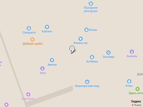 Секунда на карте Тулы