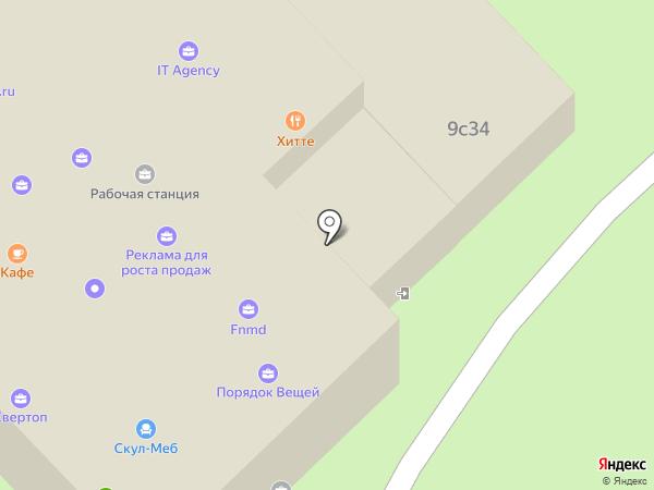 Марум на карте Москвы
