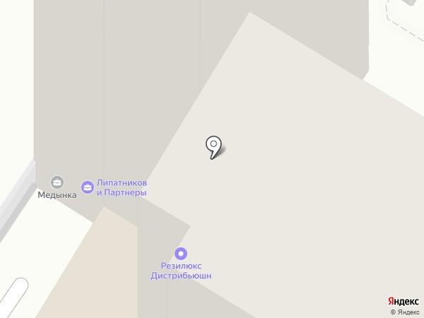 Resilux на карте Москвы
