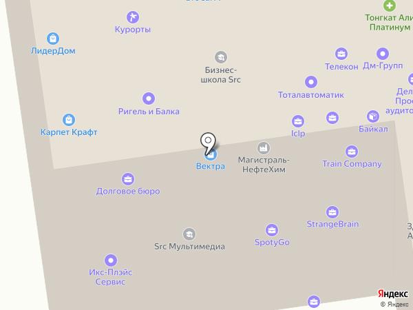 Prof-led на карте Москвы