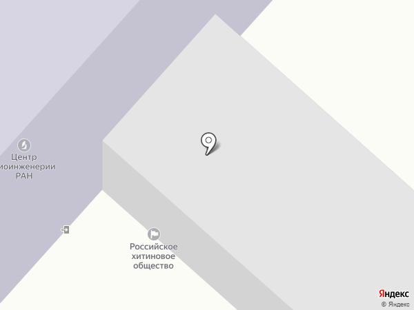 Скифф на карте Москвы