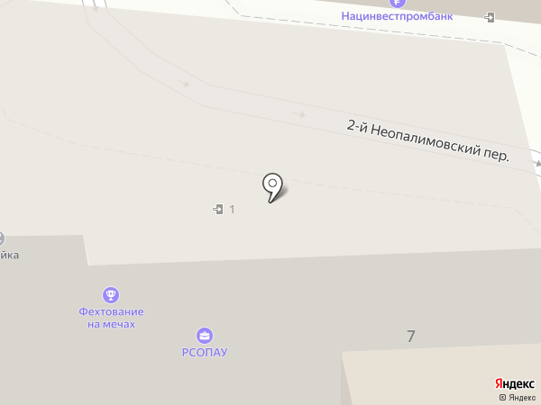 Элианто на карте Москвы