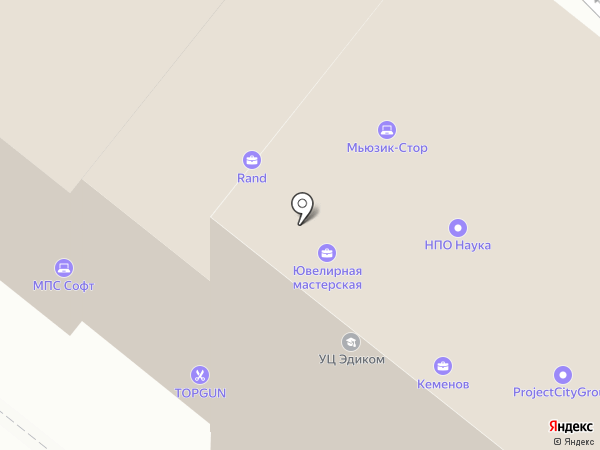 Интерком-Аудит на карте Москвы