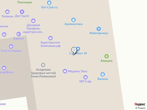 Гидроспецфундаментстрой на карте Москвы