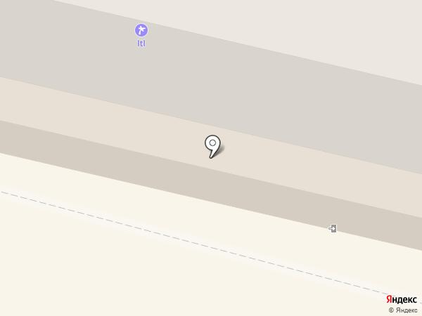 Находка на карте Тулы