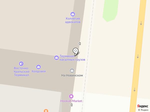 Восточно-Уральский Терминал на карте Москвы