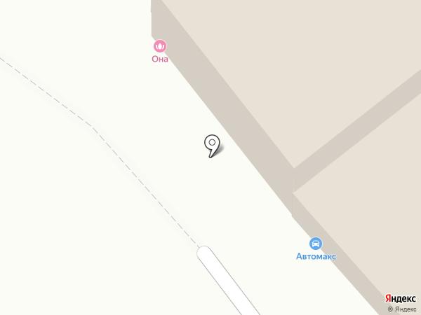 Автомакс на карте Тулы