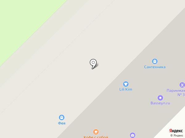 Ковчег на карте Москвы